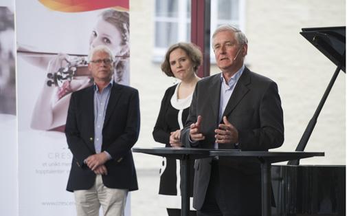 Stephan Barratt-Due, Ingrid Røynesdal og Kåre Rommetveit Foto: Thor Brødreskift