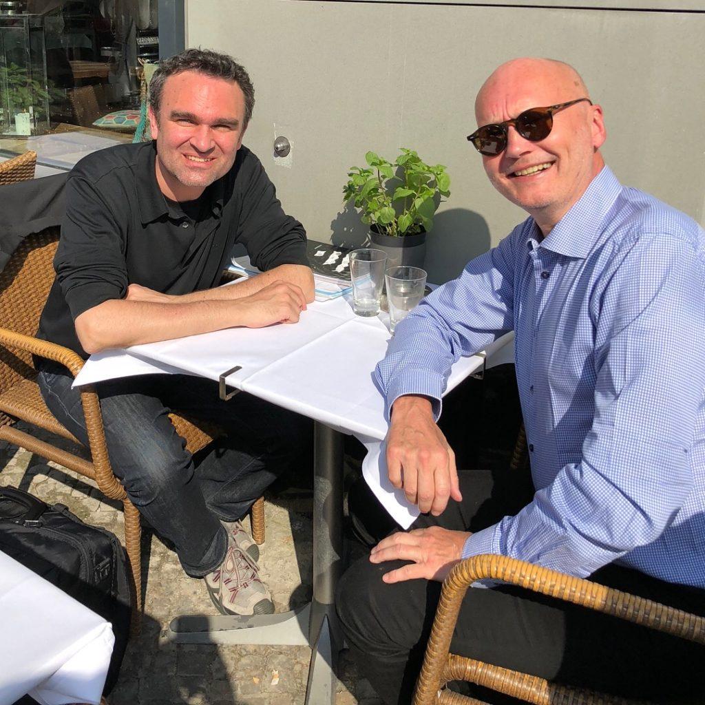 Jörg Widmann and Anders Beyer